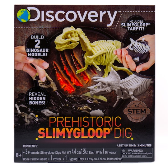 Discovery™ Prehistoric Slimygloop® Dig By Discovery Kids | Michaels®