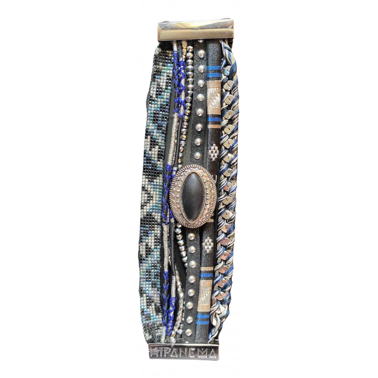Hipanema - Bracelet   pour femme en acier - noir