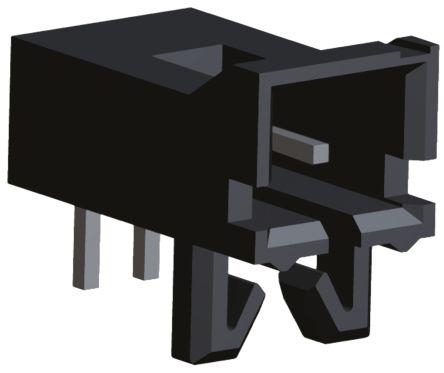 TE Connectivity , AMPMODU MTE, 2 Way, 1 Row, Right Angle PCB Header (5)