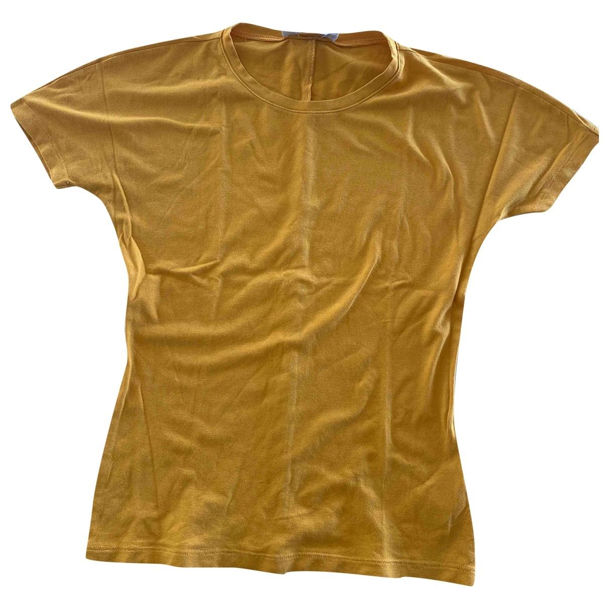 Max Mara \N Yellow Cotton  top for Women S International