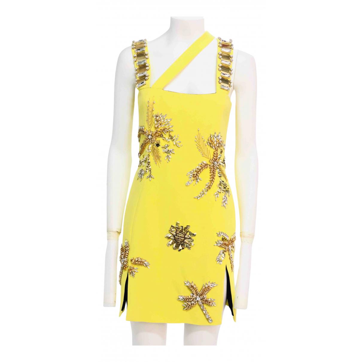 Fausto Puglisi \N Kleid in  Gelb Viskose