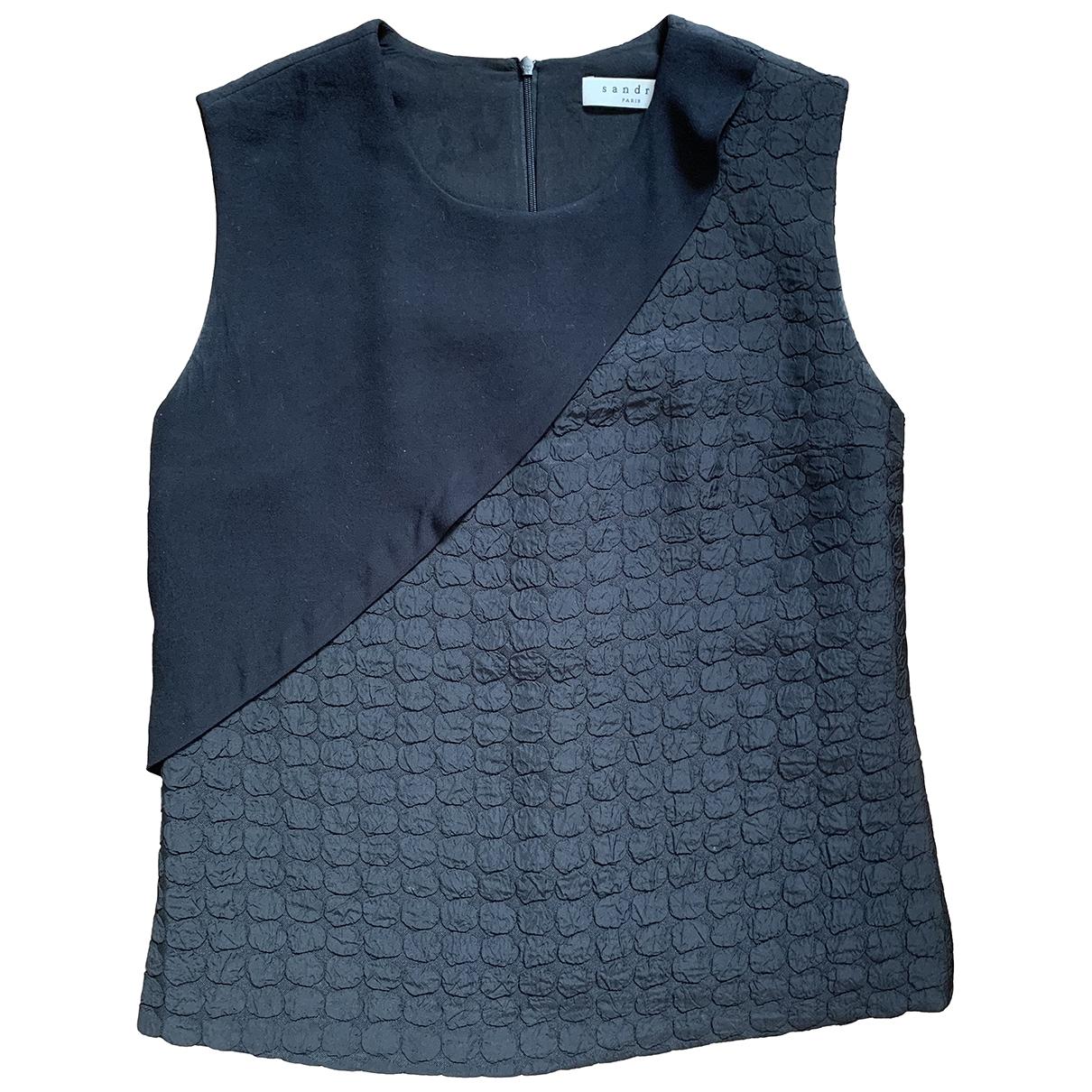 Sandro \N Top in  Schwarz Polyester