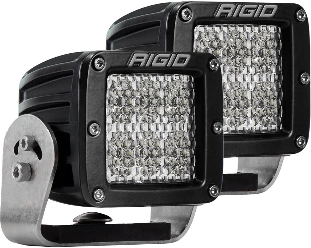 RIGID Industries Heavy Duty Diffused Pair D-Series Pro