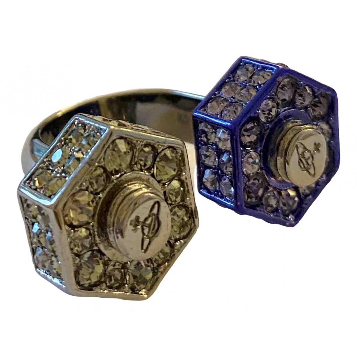 Vivienne Westwood \N Blue Silver ring for Women 54 EU
