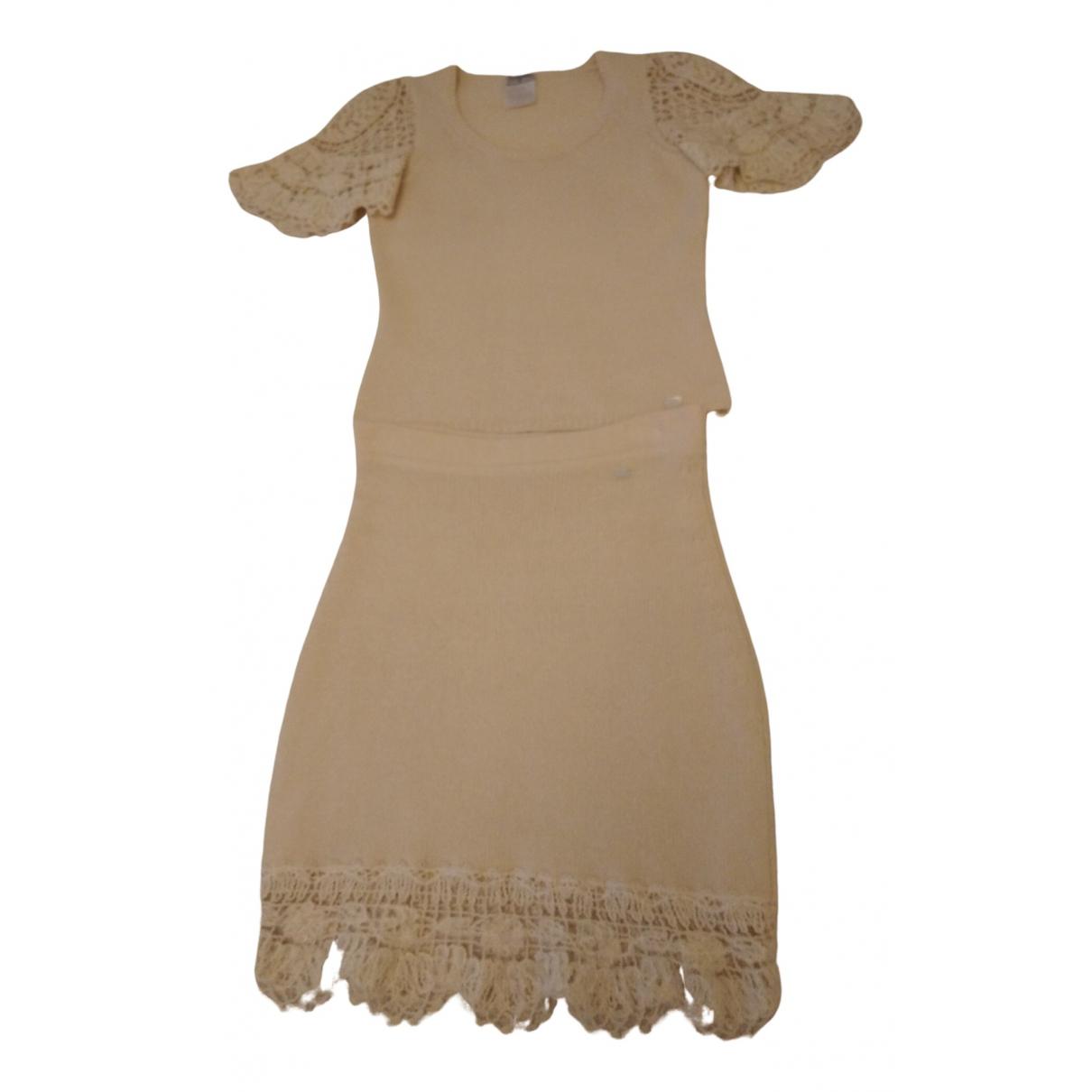 Chanel \N Beige Cashmere dress for Women 34 FR