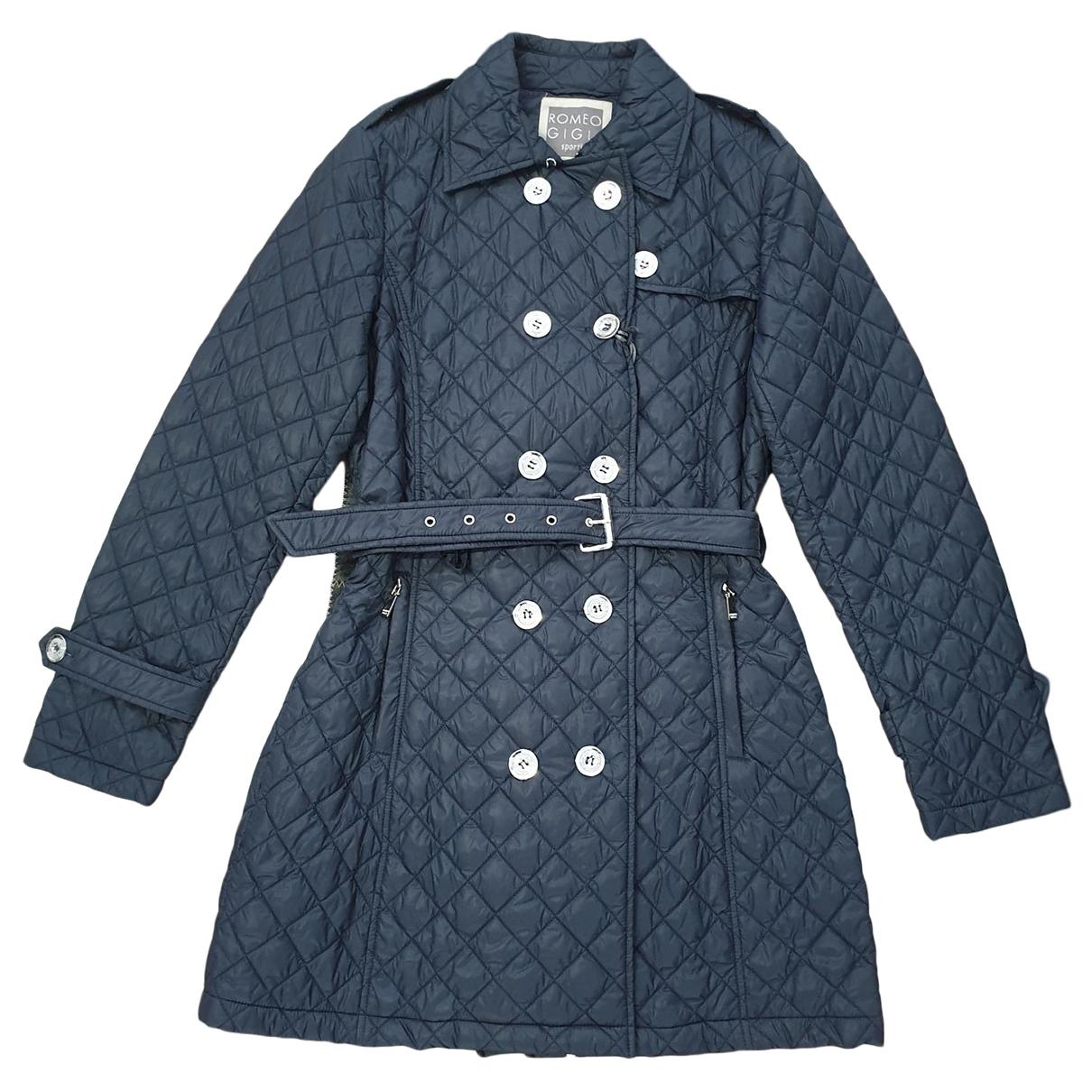 Romeo Gigli - Manteau   pour femme - bleu
