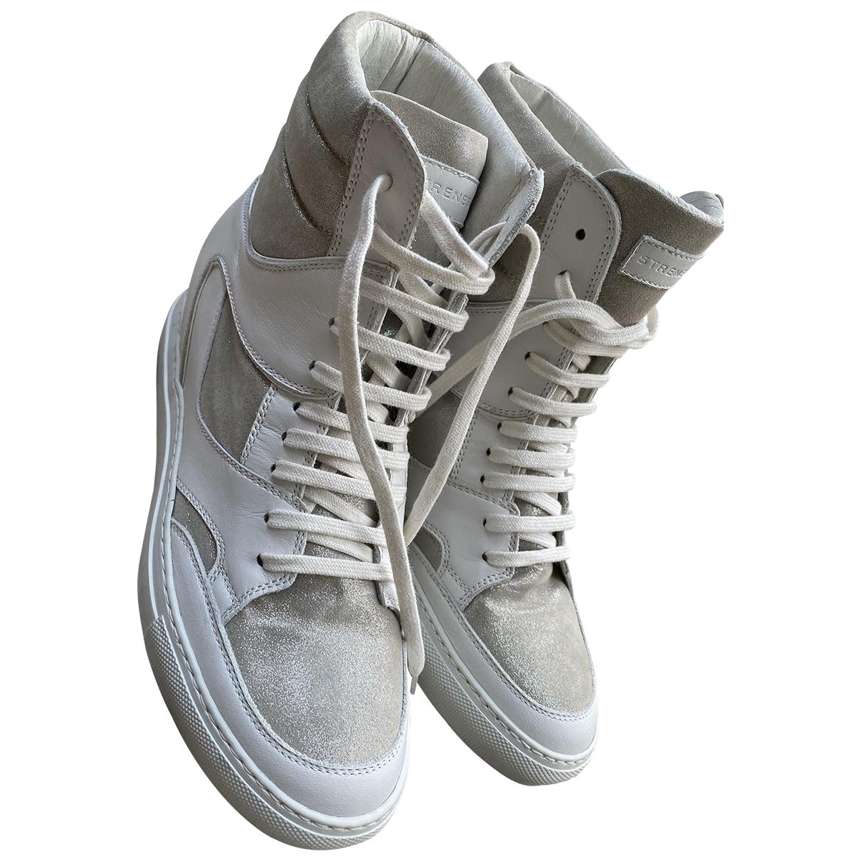 Strenesse \N Sneakers in  Metallic Leder