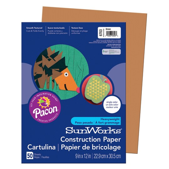 Sunworks® Construction Paper, 9