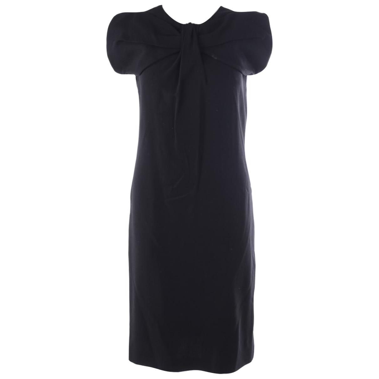 Jil Sander - Robe   pour femme en laine - noir