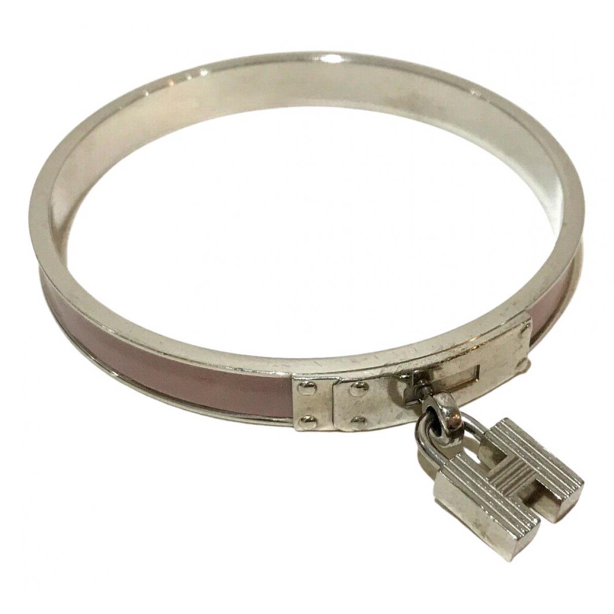 Hermès N Silver Metal bracelet for Women N