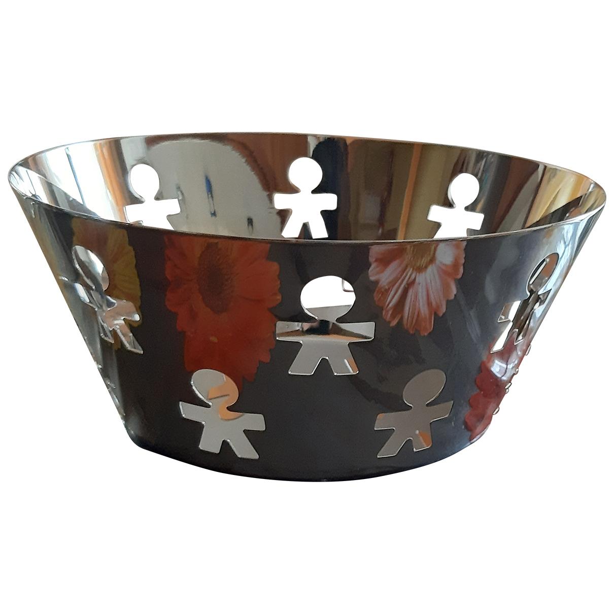 Alessi \N Silver Steel Dinnerware for Life & Living \N