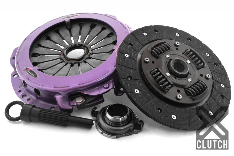 XClutch XKHN21506-1A Clutch Kit with Chromoly Flywheel Stage 1 Single Sprung Organic Clutch Disc Honda Fit 2007-2008 1.5L 4-Cylinder
