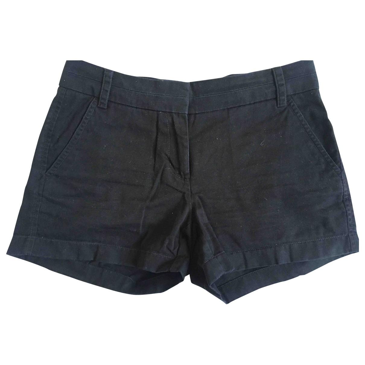 J.crew \N Shorts in  Schwarz Baumwolle