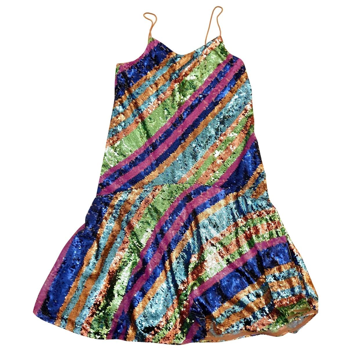 Essentiel Antwerp - Robe   pour femme en a paillettes - multicolore