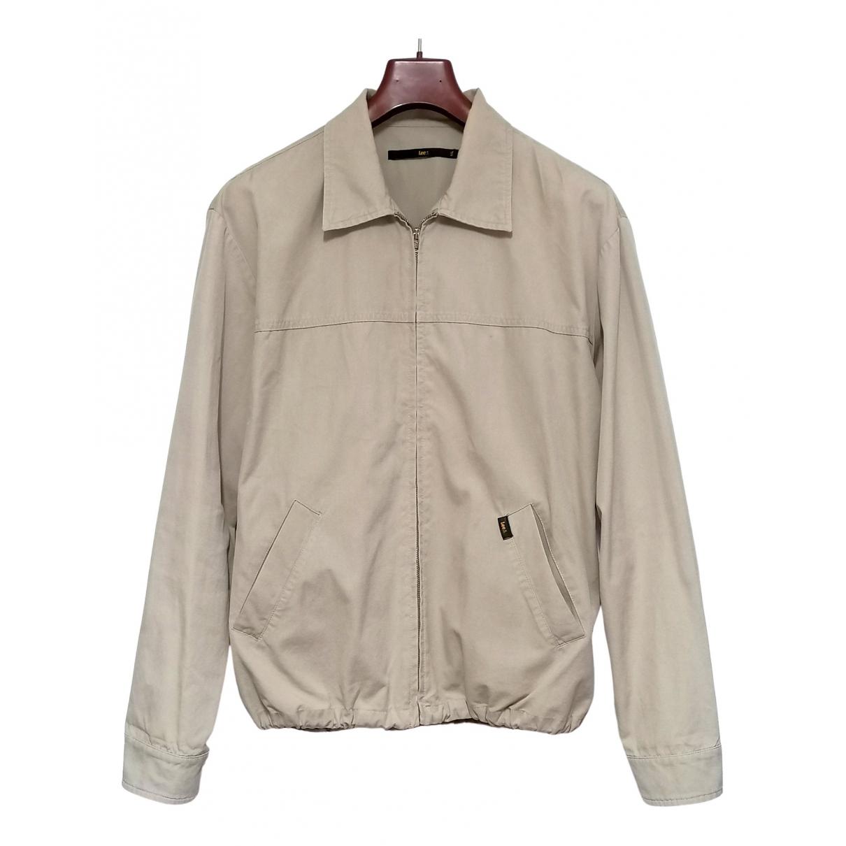 Lee - Manteau   pour homme en coton - beige