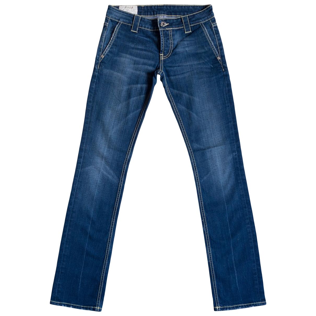 Dondup \N Blue Denim - Jeans Jeans for Women 25 US