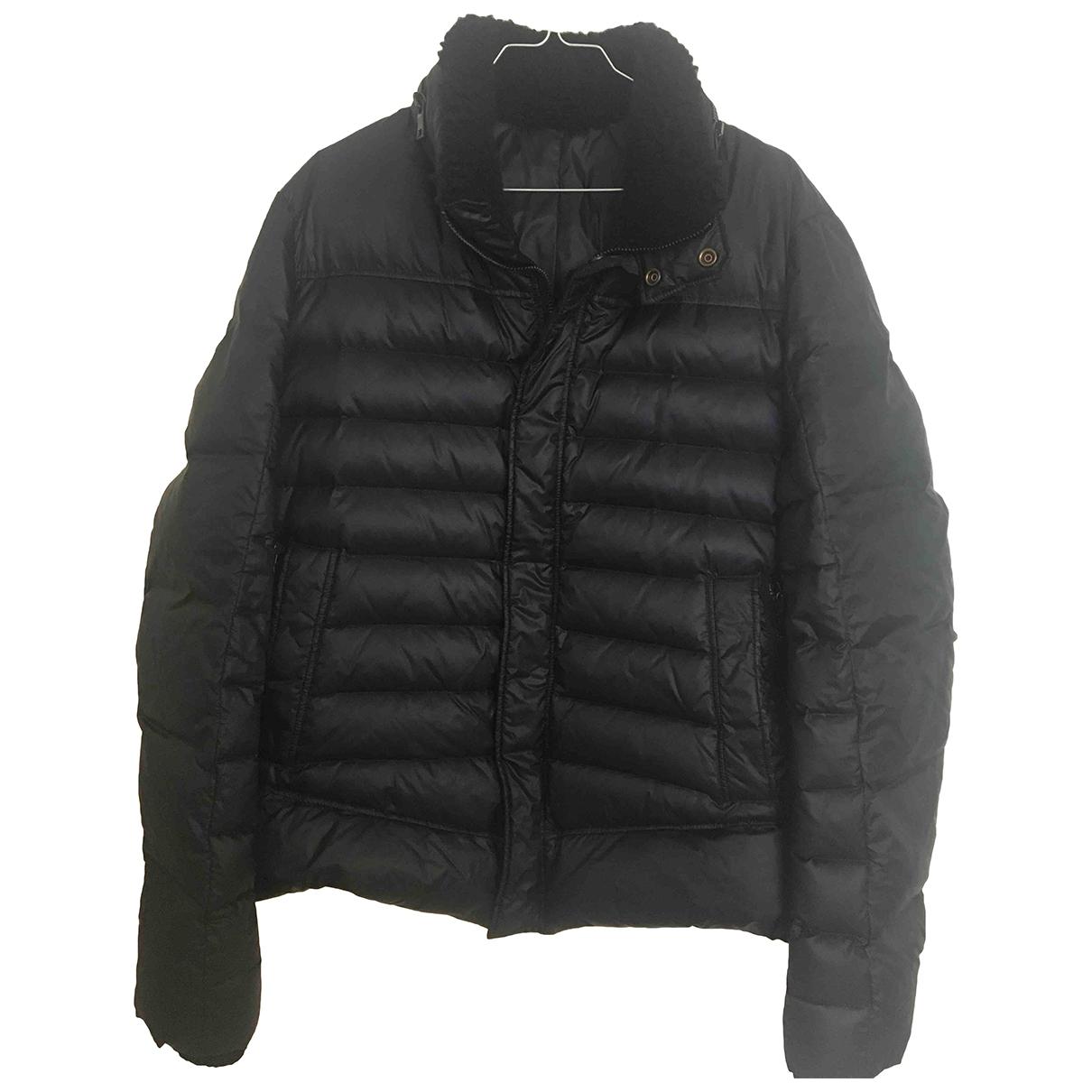 Balmain \N Navy coat  for Men 52 IT