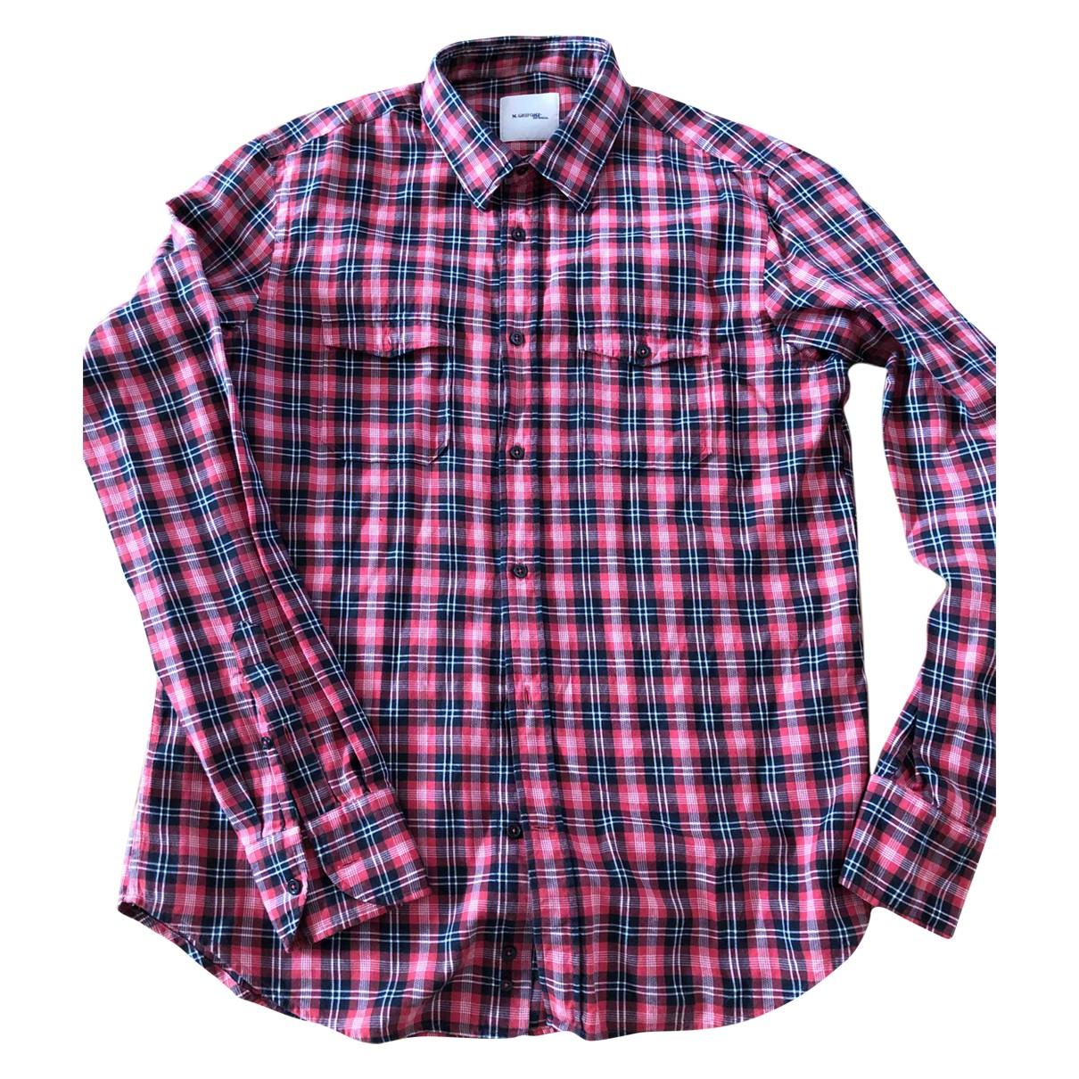 Mauro Grifoni - Chemises   pour homme en coton - multicolore