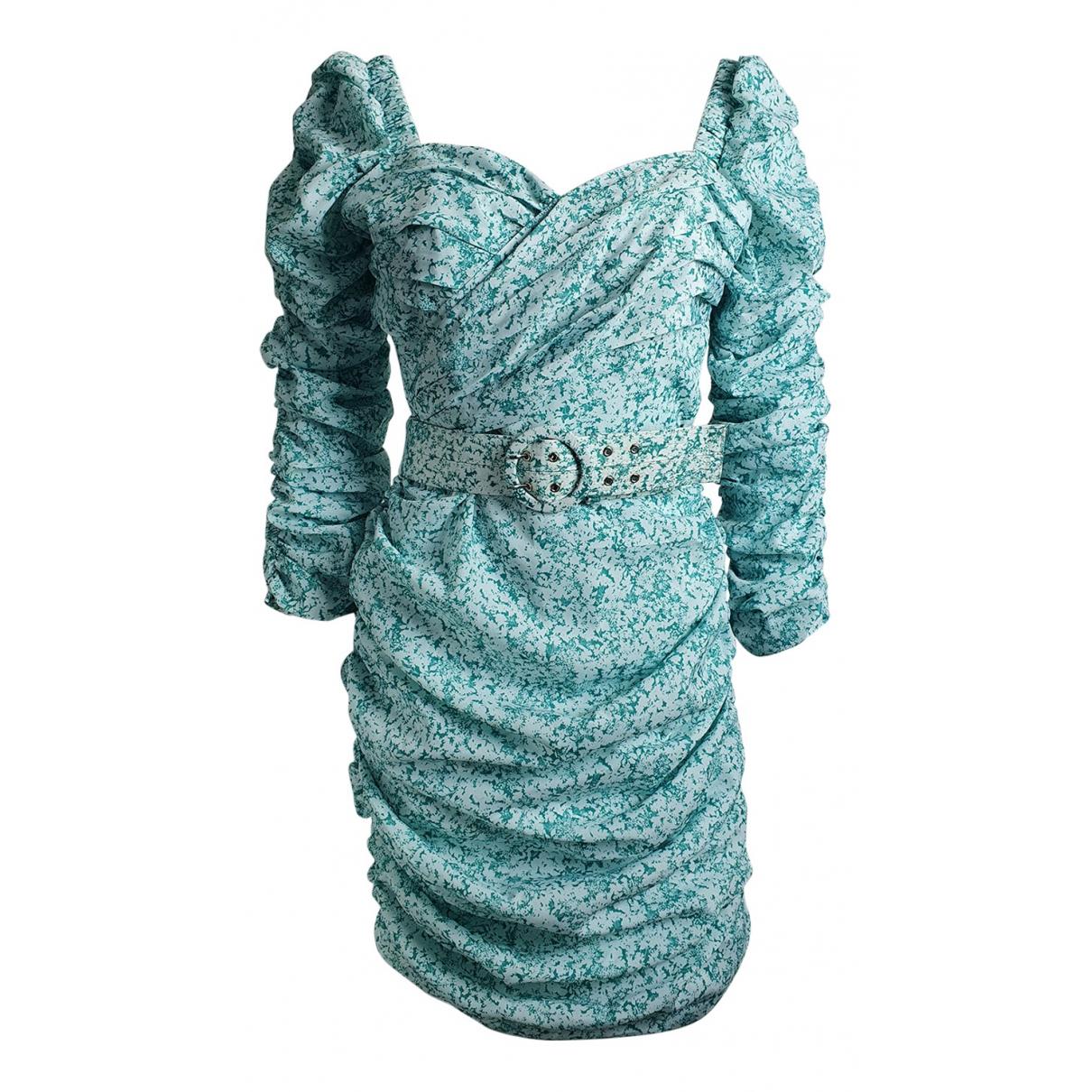 Nicholas \N Kleid in  Blau Polyester