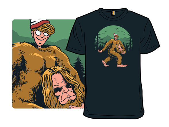 Where Is Bigfoot? T Shirt