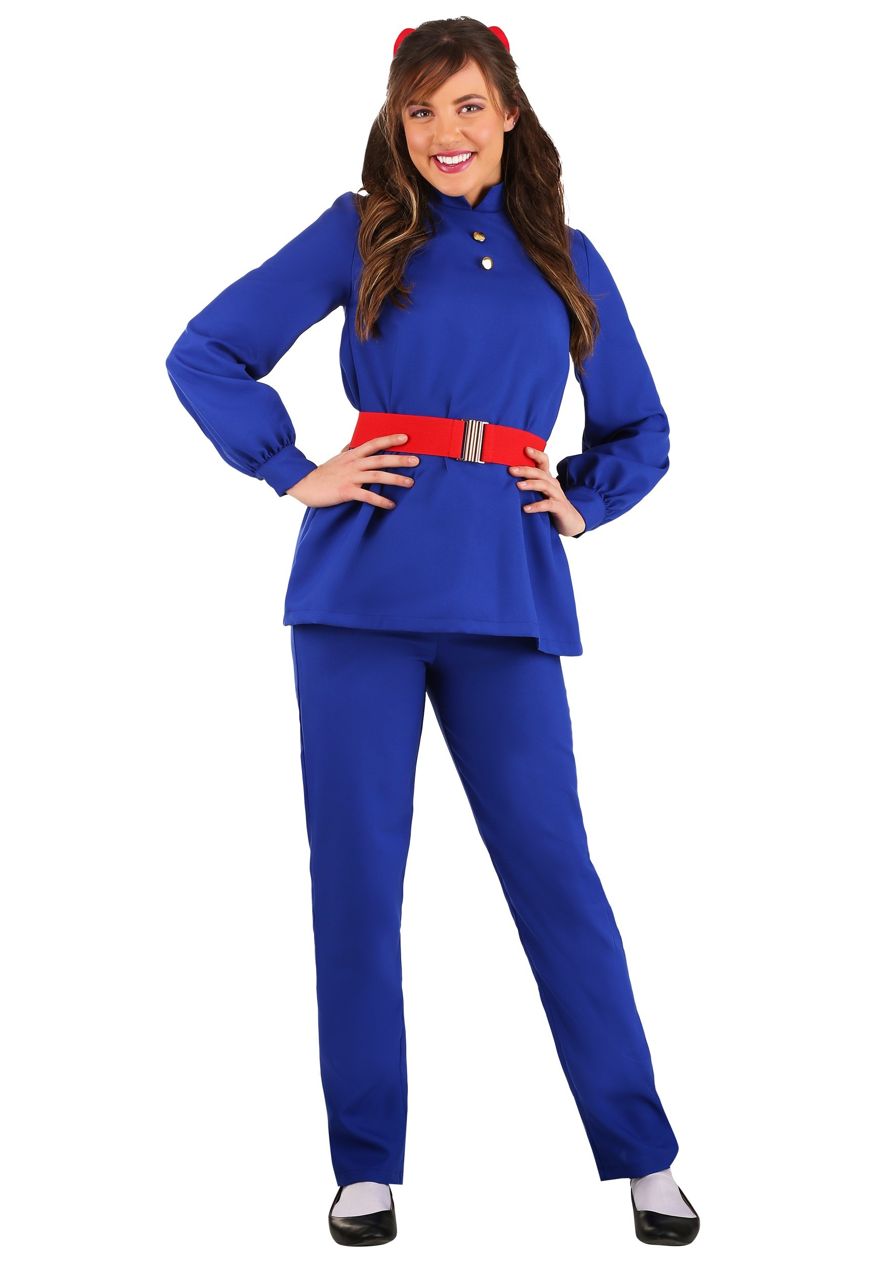 Willy Wonka Violet Beauregarde Womens Costume