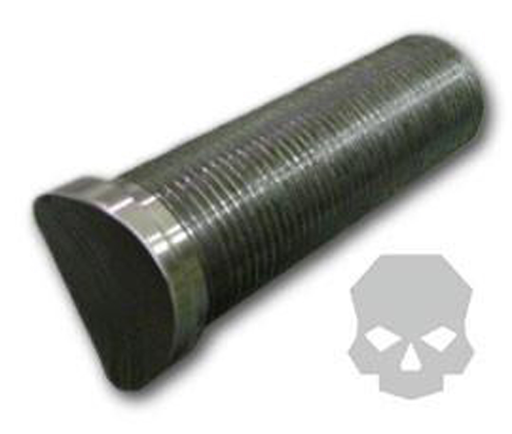 Billet Threaded Stud 2.0 Inch Cope Right Hand 3/4 Inch-16 Ballistic Fabrication MISC-619-1