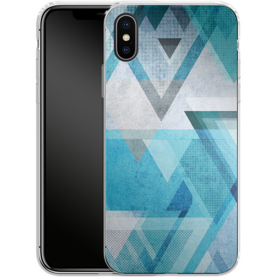 Apple iPhone X Silikon Handyhuelle - Graphic 33 von Mareike Bohmer