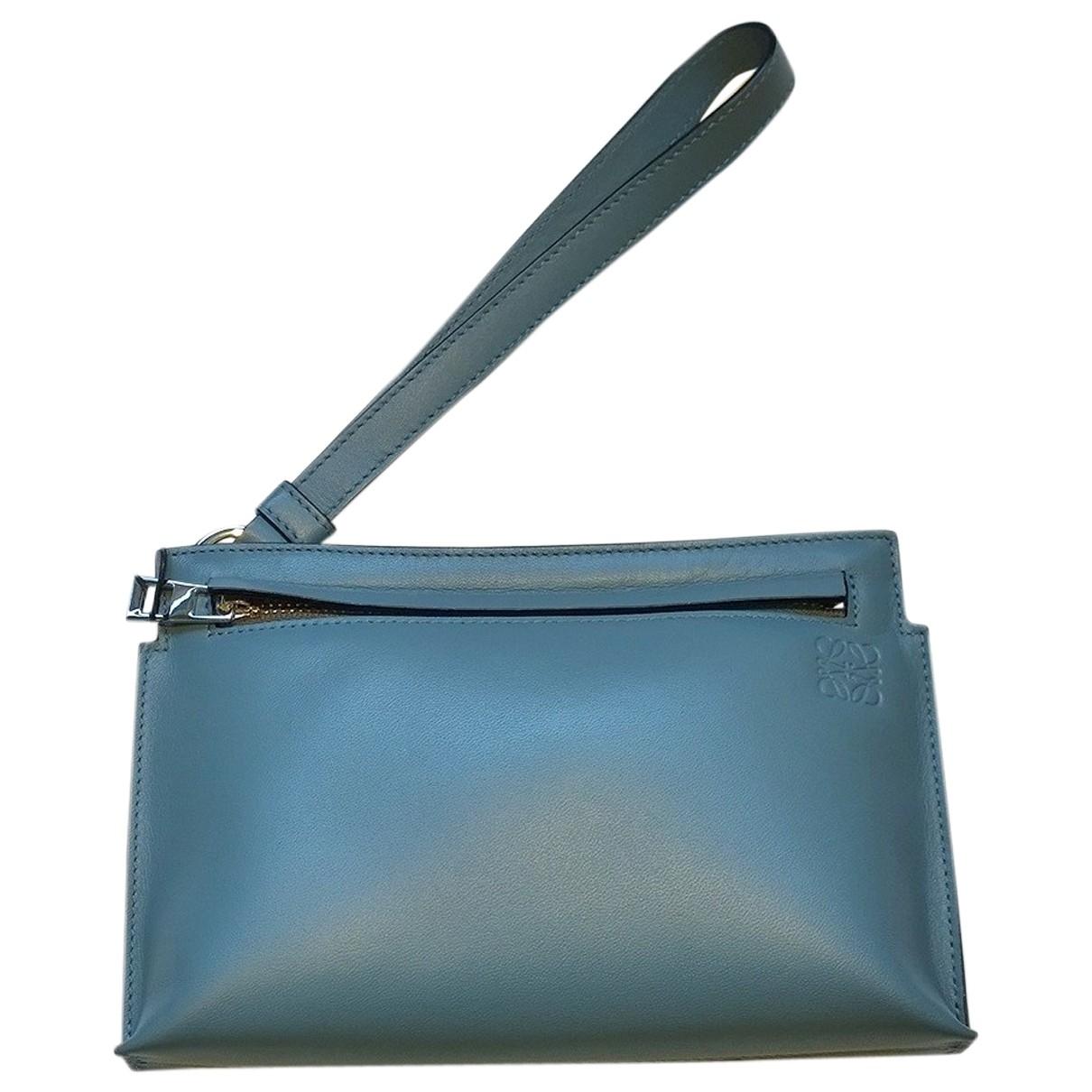 Loewe - Petite maroquinerie   pour femme en cuir - bleu