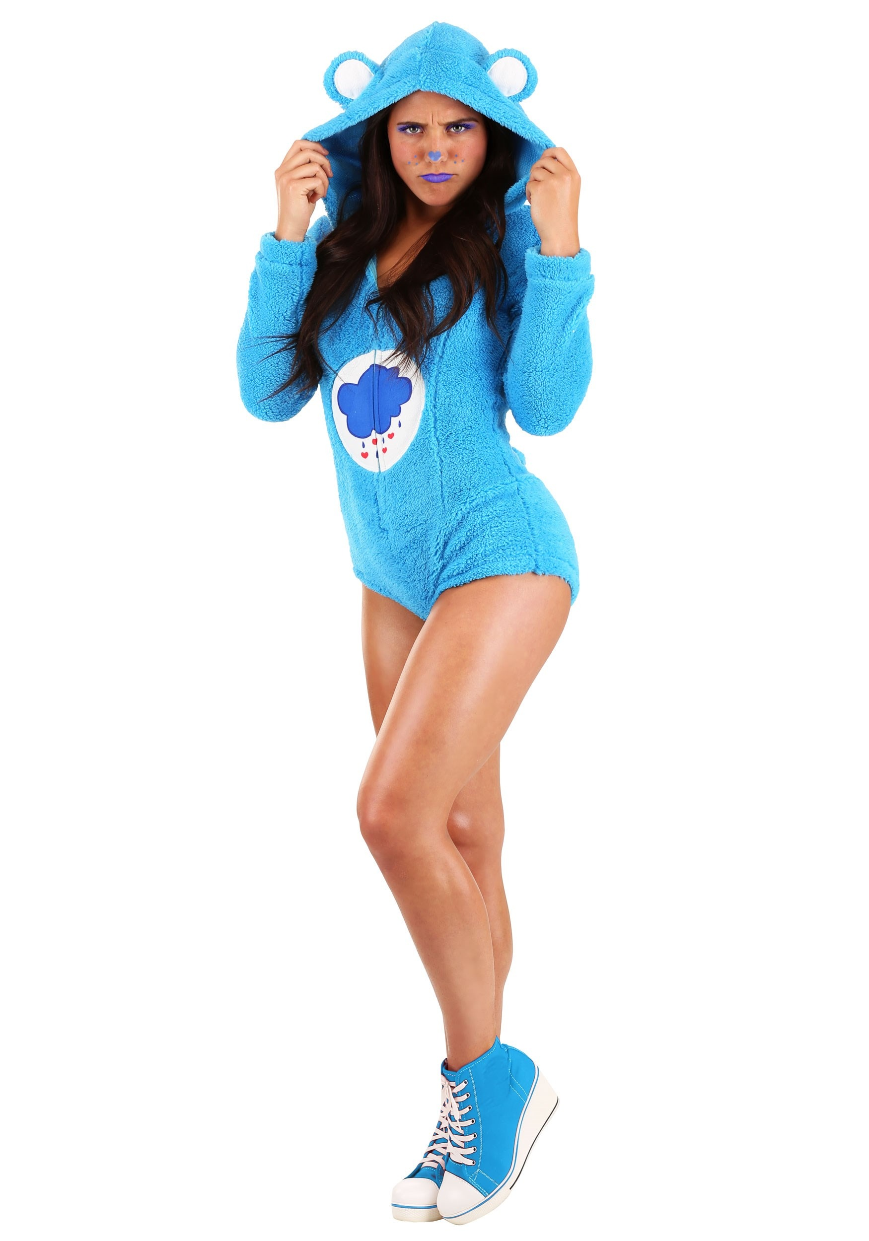 Grumpy Bear Romper Costume for Women.