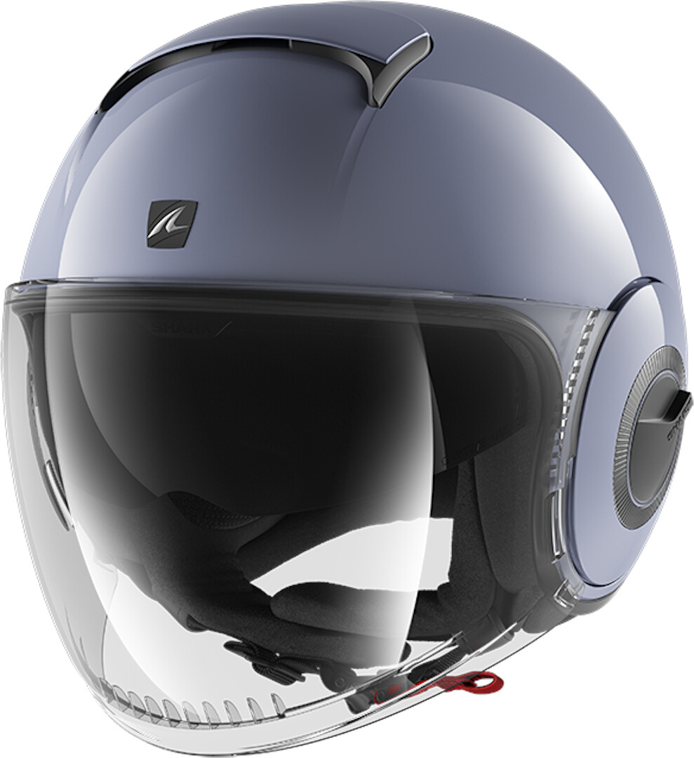 Shark Nano Blank S01 Nardo Grey Jet Helmet S