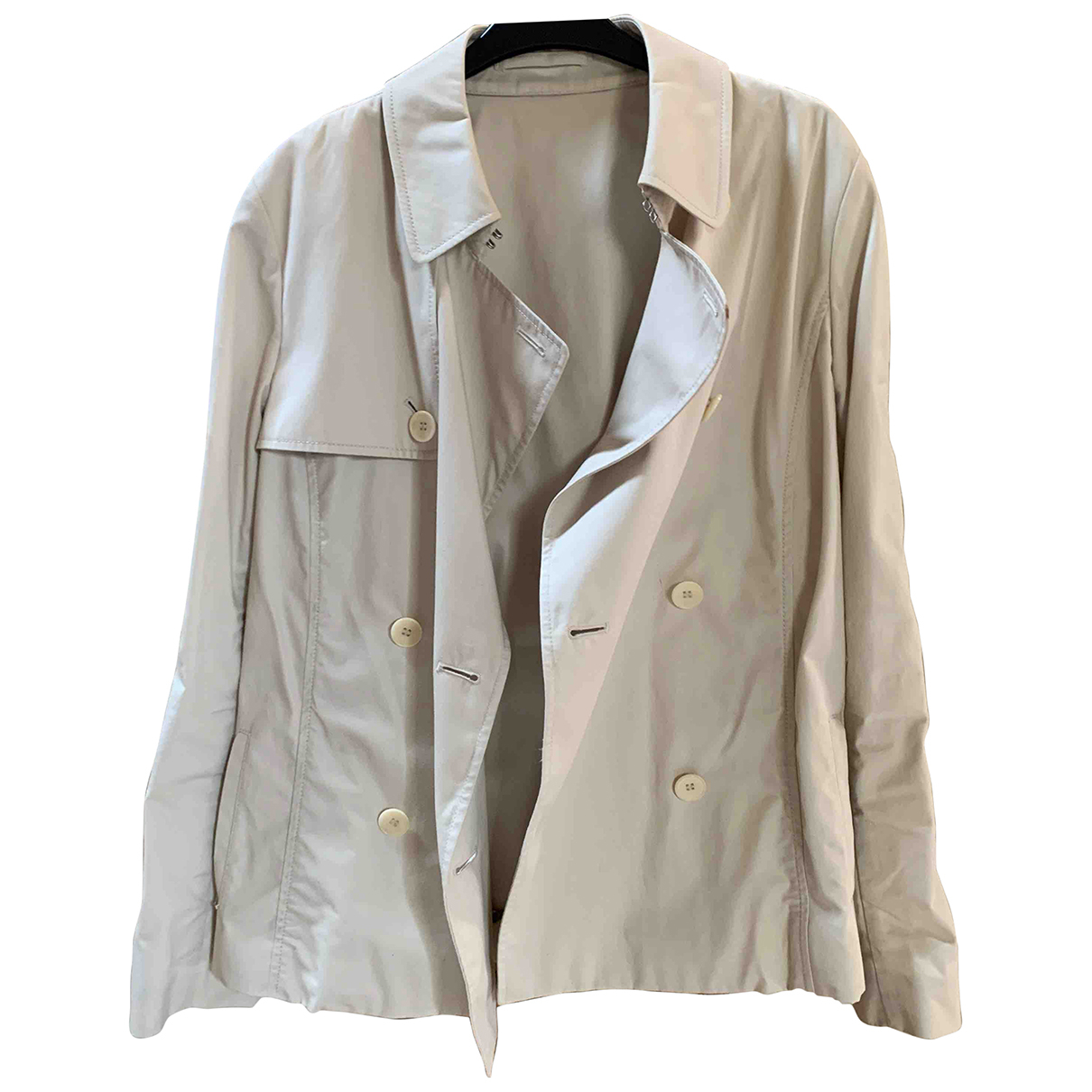 Aquascutum N Beige Cotton jacket for Women 14 UK