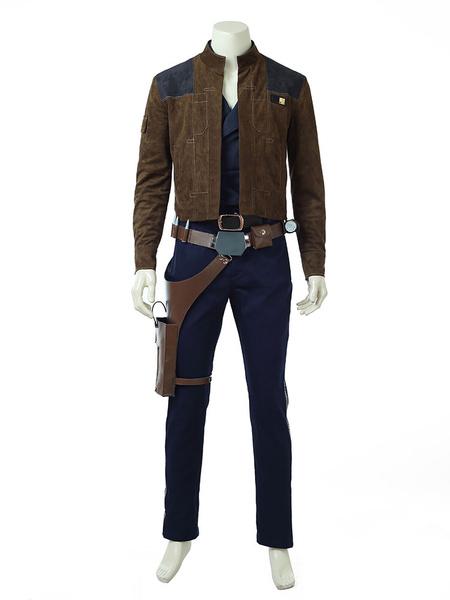 Milanoo Star Wars Han Solo Halloween Cosplay Costume