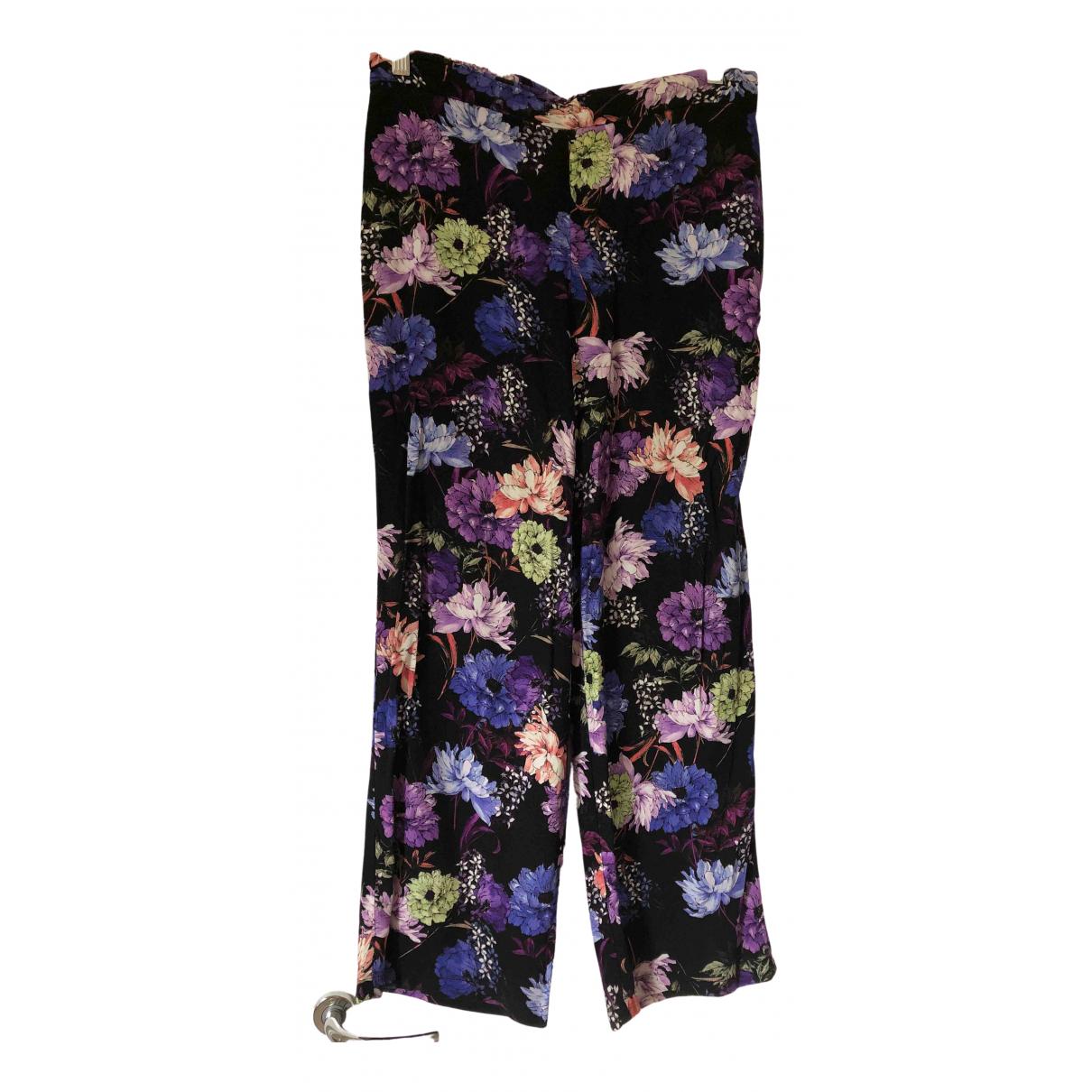Mango \N Multicolour Trousers for Women M International
