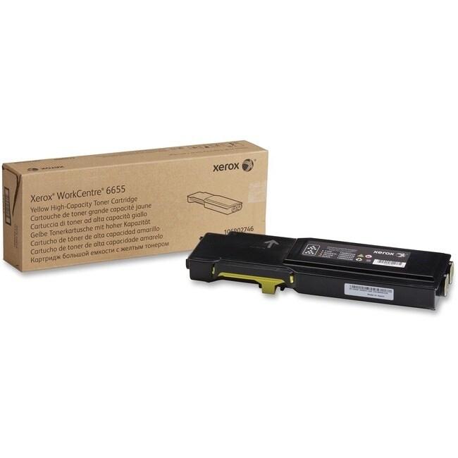 Xerox supplies 106r02746 yellow high capacity toner (YELLOW)