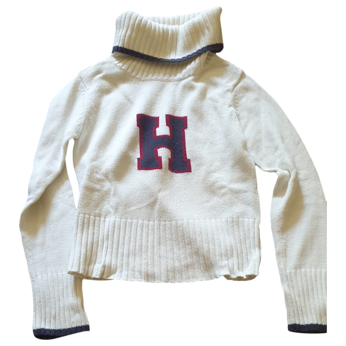 Tommy Hilfiger \N White Cotton Knitwear for Kids 14 years - S FR