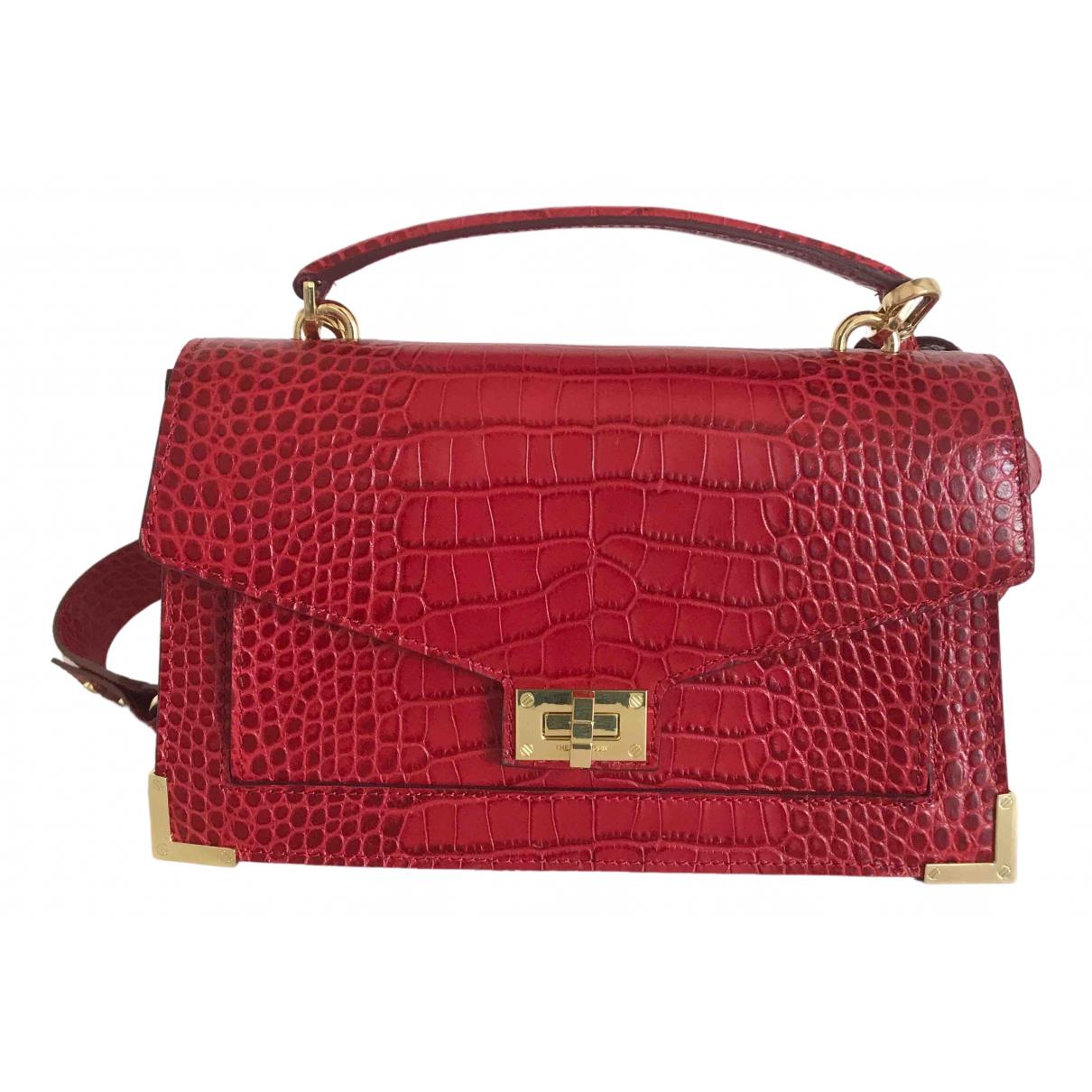 The Kooples Emily Red Leather handbag for Women \N