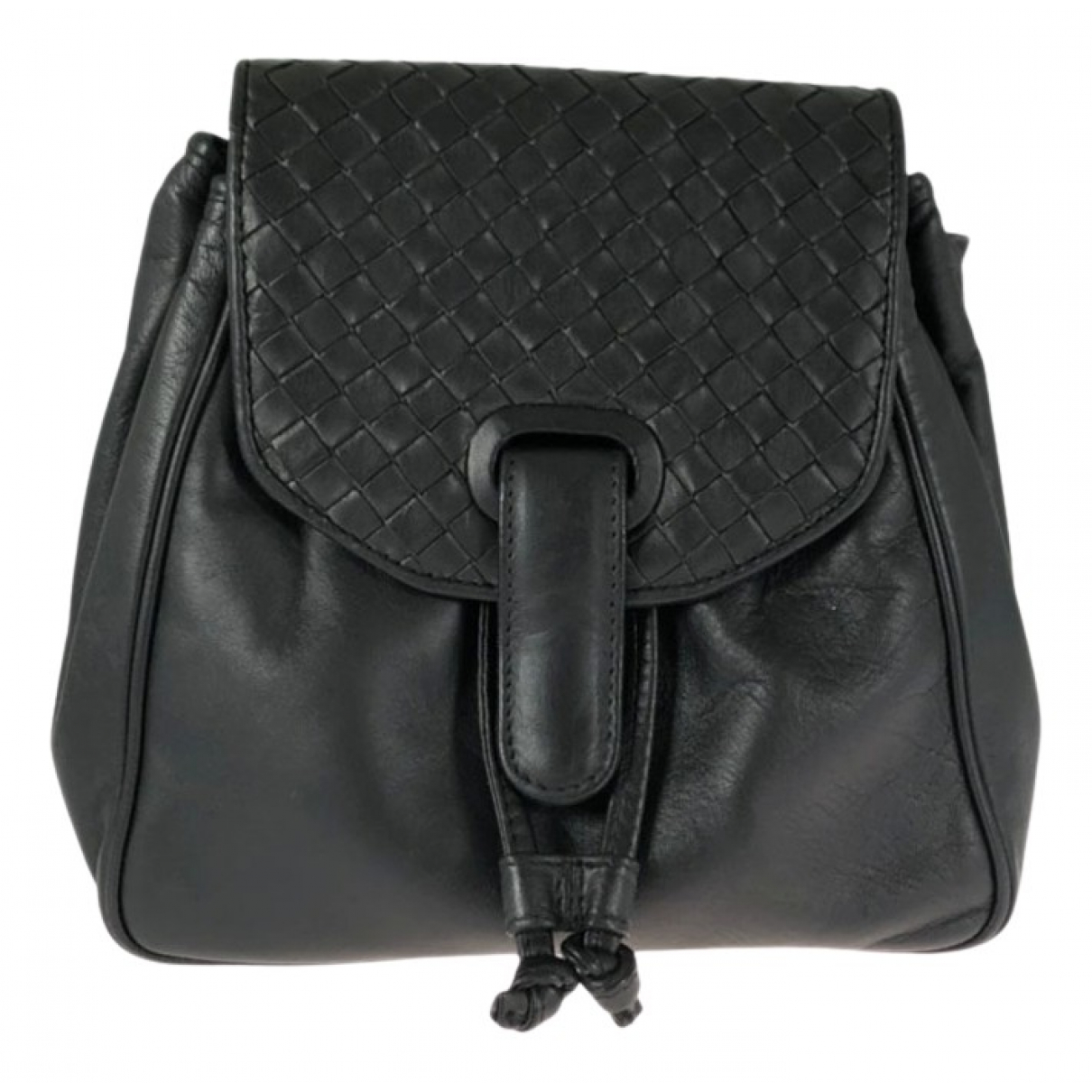 Bottega Veneta N Black Leather backpack for Women N