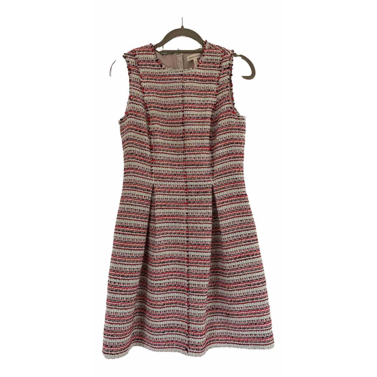 Rebecca Taylor \N Pink Cotton dress for Women 6 US
