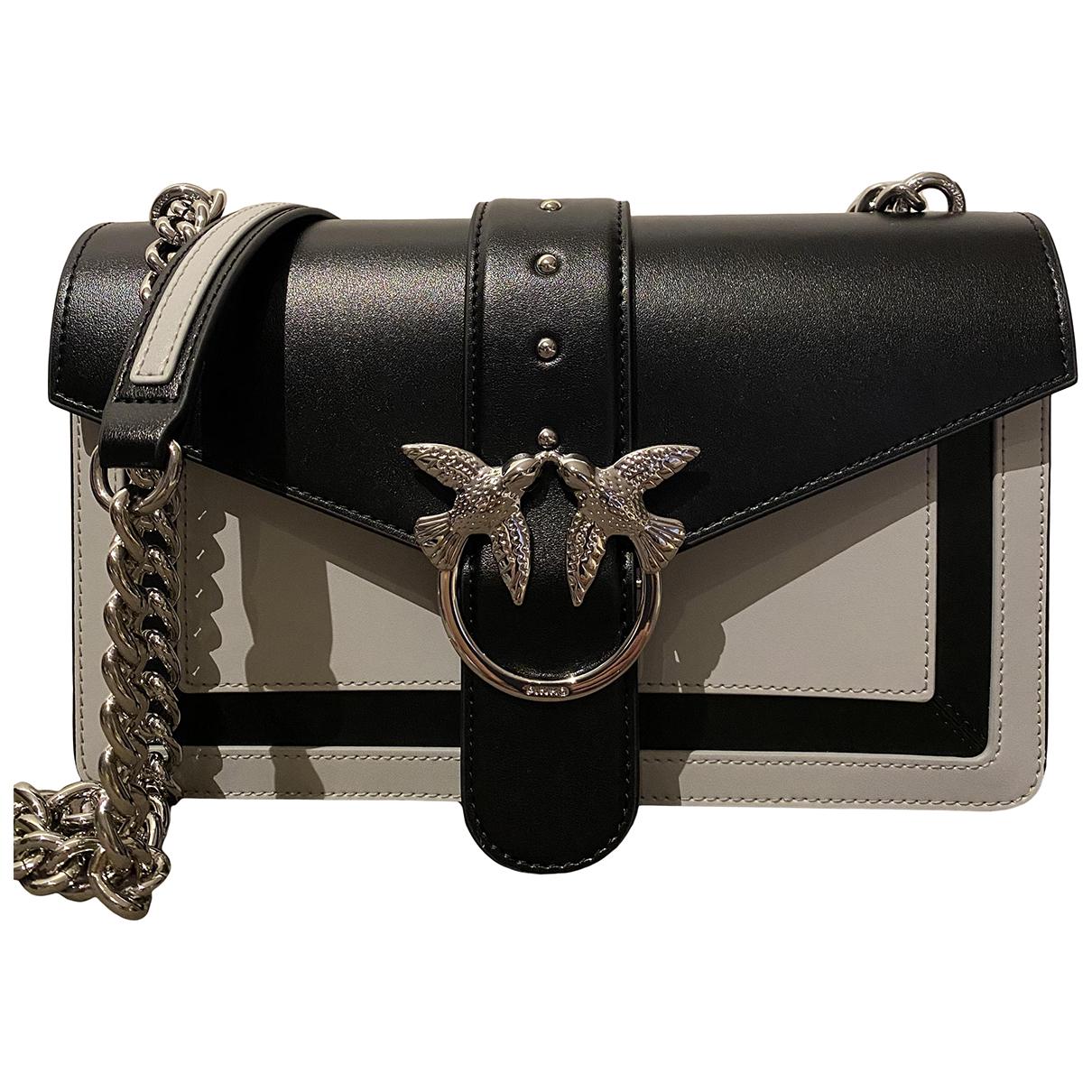 Pochette Love Bag de Cuero Pinko