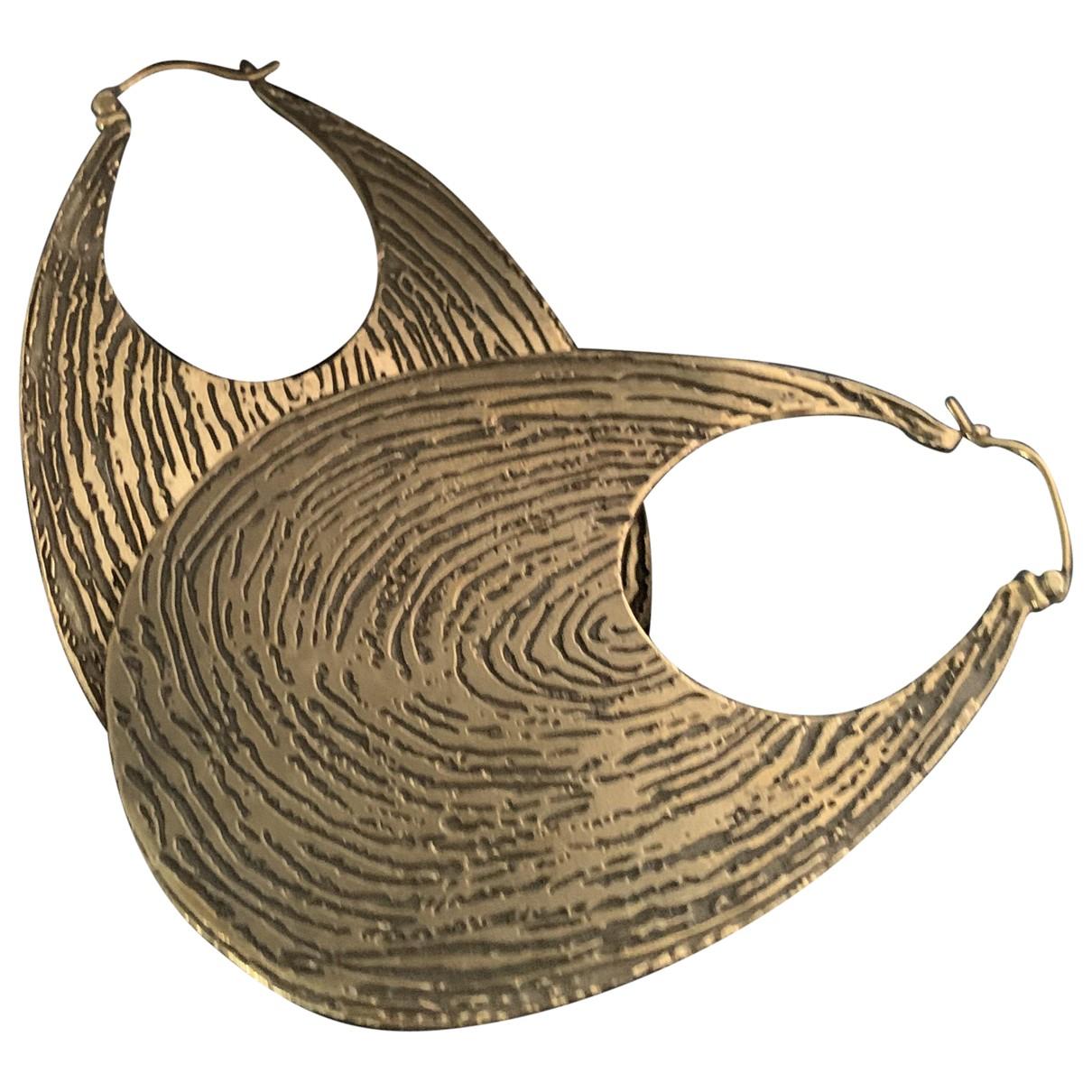Yves Saint Laurent \N Gold Metal Earrings for Women \N