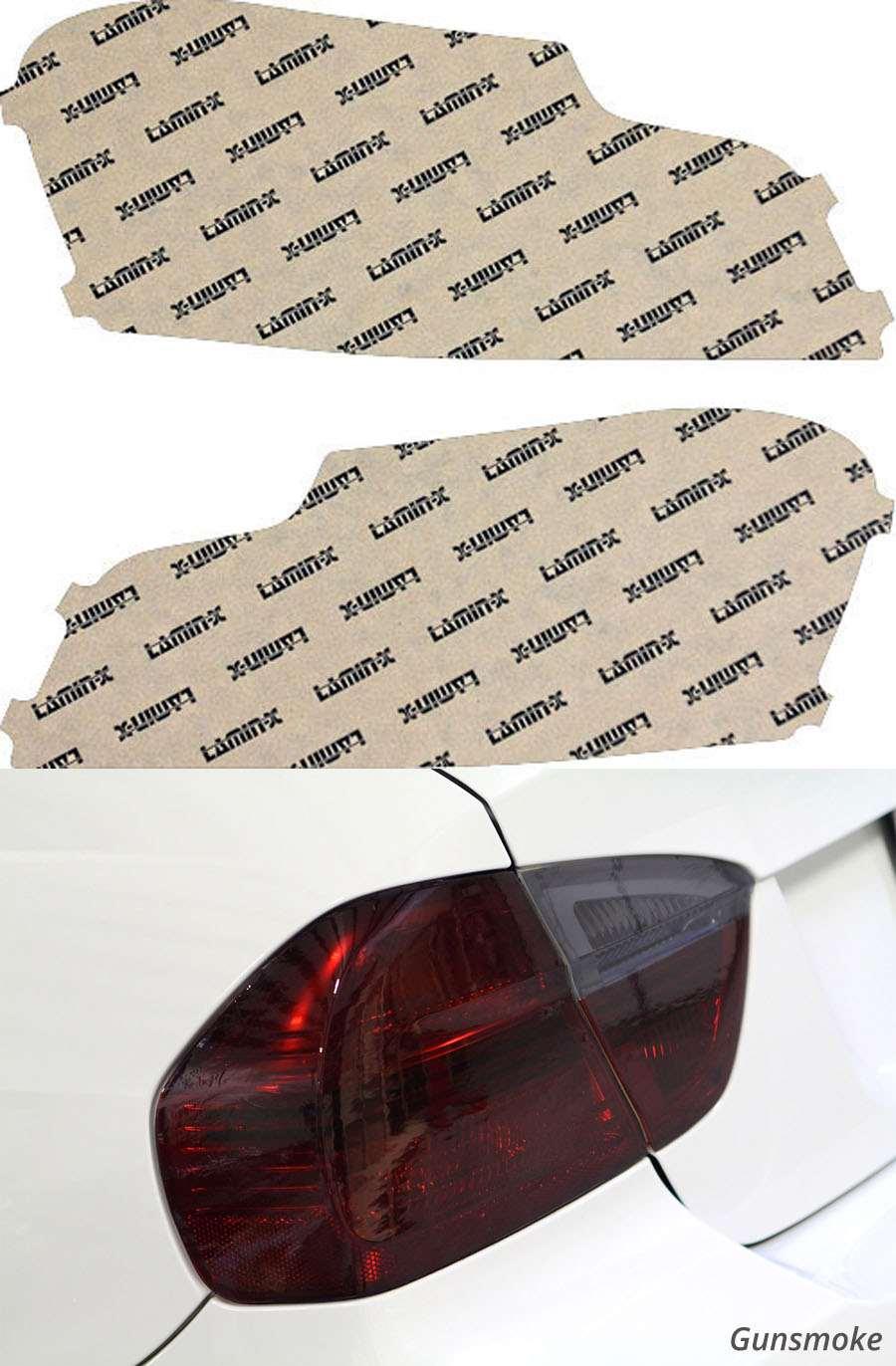 BMW 1M Coupe 11-12 Gunsmoke Tail Light Covers Lamin-X B623G