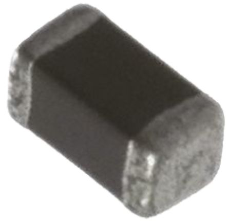 Murata , LQM18N, 1608 Shielded Wire-wound SMD Inductor with a Ferrite Core, 1.5 μH Multilayer 25mA Idc Q:35 (25)