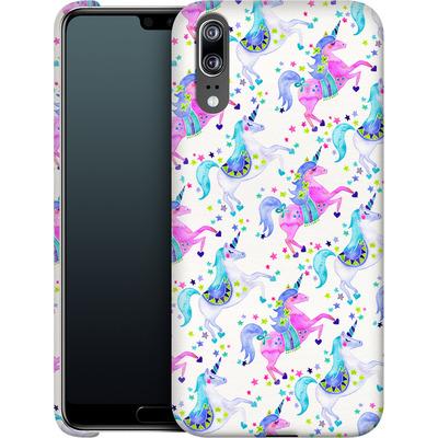 Huawei P20 Smartphone Huelle - Unicorns Pastel von Cat Coquillette