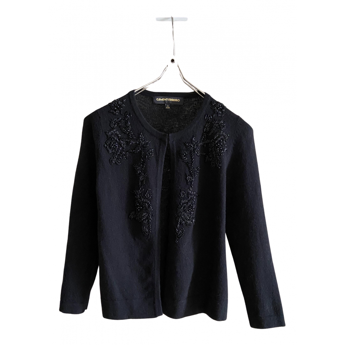 Clements Ribeiro \N Pullover in  Schwarz Wolle