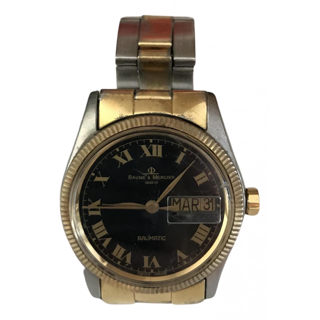 Baume Et Mercier \N Uhr in Stahl