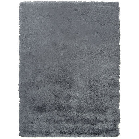Safavieh Shag Collection Camille Solid Area Rug, One Size , Gray