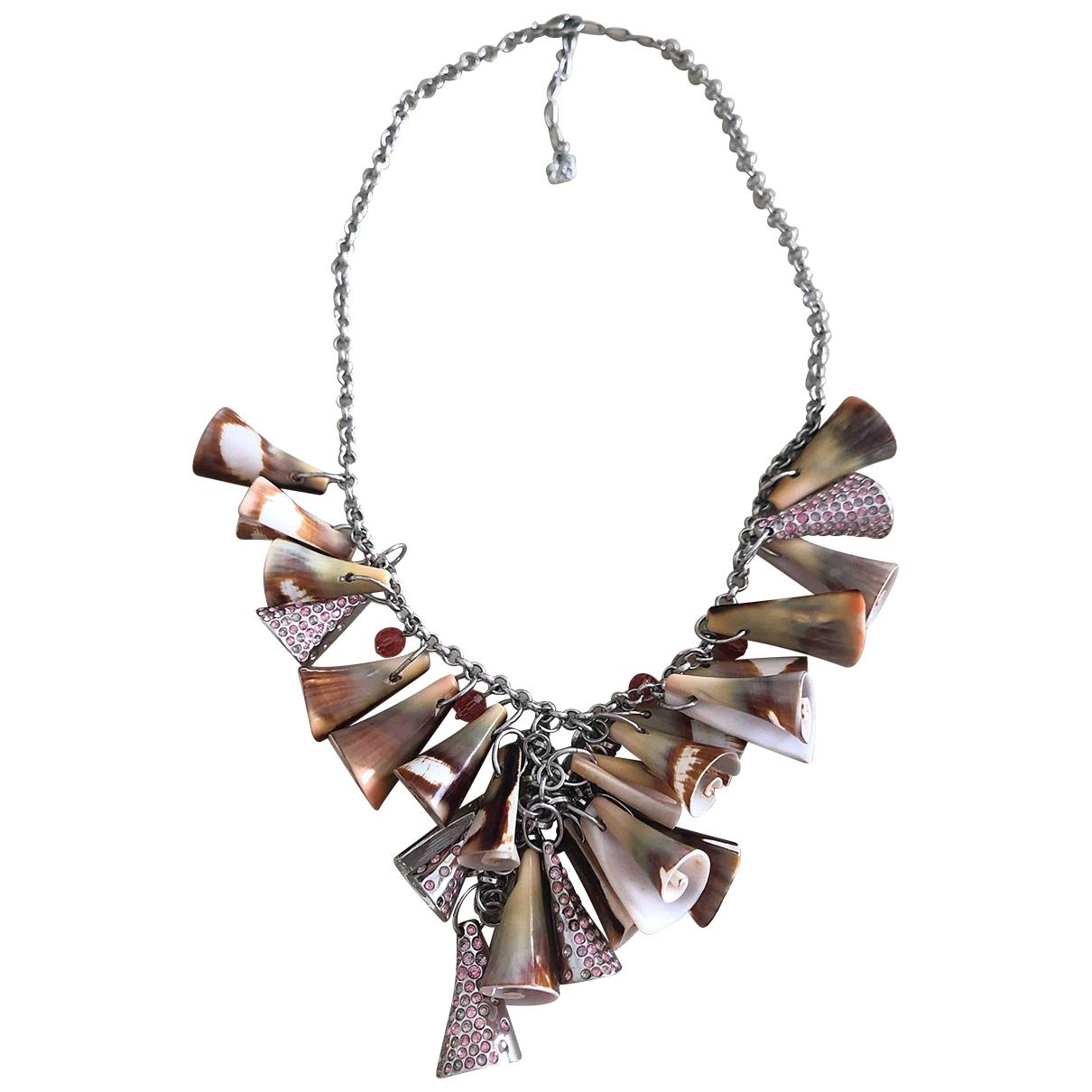 Swarovski - Collier   pour femme en metal - metallise