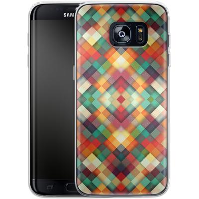 Samsung Galaxy S7 Edge Silikon Handyhuelle - Time Between von Danny Ivan