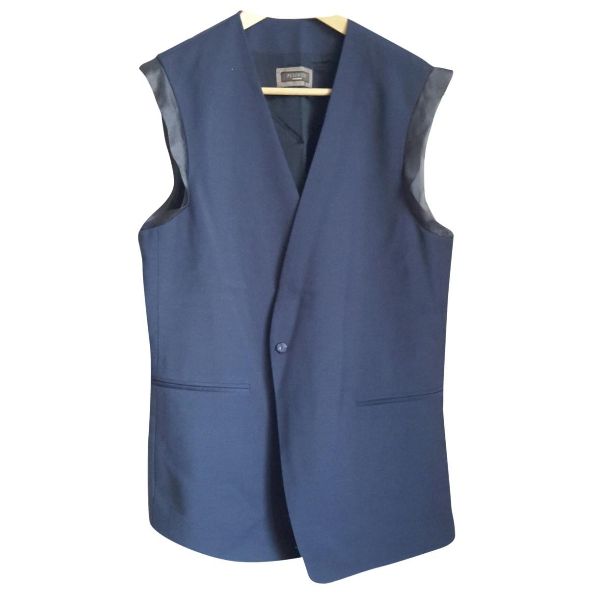Peserico \N Pullover in  Blau Wolle