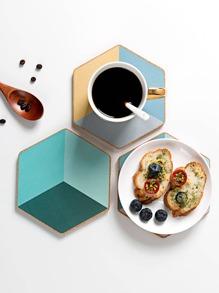 1pc Hexagon Shaped Coaster